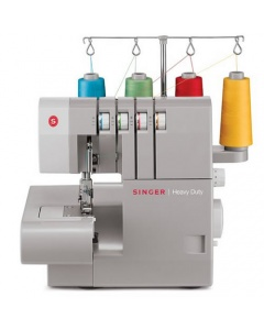 Singer 14DH854 heavy duty overlock machine to use