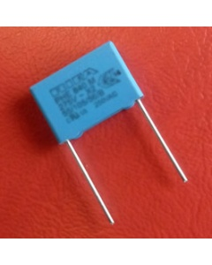 Sewing machine capacitor