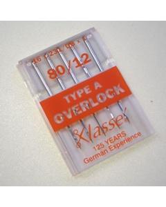 Overlock needles size 80 type DBx1, 16x231, 2053