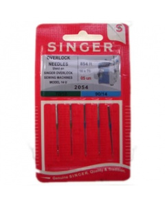 Singer assorted pack overlock needles 2054, 16 x 75