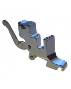 Foot holder for top loading machines