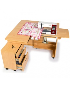 Horn Quilters Delight sewing cabinet for quilters