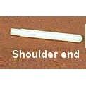 Plastic Spool Pin with Shoulder End Including Felt