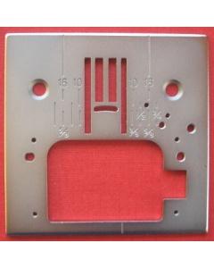 Singer Futura CE250 Zig Zag Needle Plate