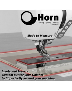 Horn cabinet filler plate