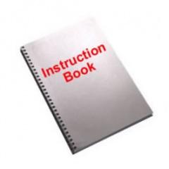 Singer 14u185 Overlock Instruction Book