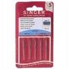 Singer Sewing Machine Needles Jeans Denim Point Size 90/100 (5-Pack)