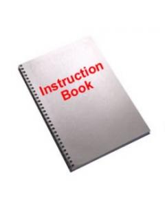 Singer 358 Sewing Machine Instruction Book