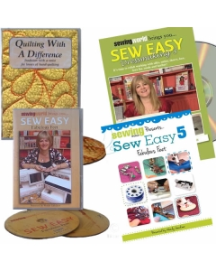 Sewing Tutorial DVD and Books