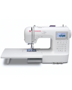Singer Stylist 9100 sewing machine with extension table