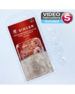Singer 15J plastic bobbins