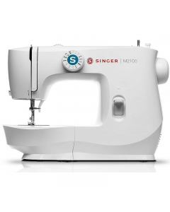 Singer M2105 is trendy looking in bright white finish