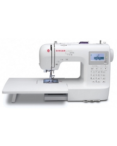 Singer 9100 with QUILTERS extension