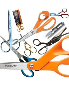 A good choise of scissors to suit all needs