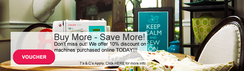 Singer sewing machine discount sale