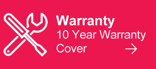 10 Years Warranty On Selected Models